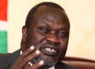 South Sudan' s rebel leader Riek Machar
