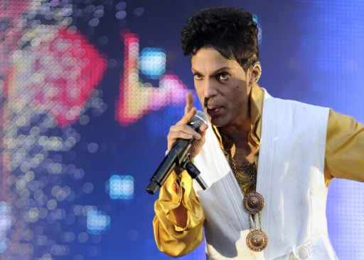 AFP/File / Bertrand Guay US singer Prince's music for the animated film