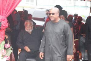 President Mahama join hundreds to mourn murdered MP