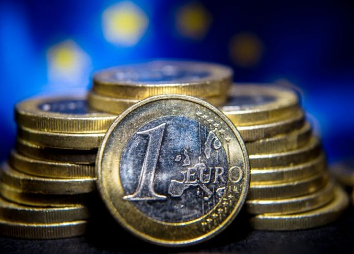 Eurozone inflation in April was negative 0.2 percent, compared with a revised zero percent in March (AFP Photo/Philippe Huguen
