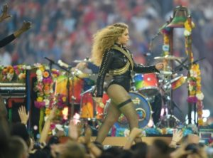 AFP/File / Timothy A. Clary  Beyonce performs during Super Bowl 50 in Santa Clara, California February 7, 2016