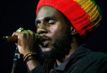 AFP / Gabrielle Lurie Jamaican Reggae musician Chronixx performs at the Bill Graham Civic Auditorium, in San Francisco, California on April 20, 2016