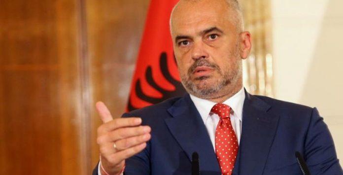 Albanian Prime Minister Edi Rama