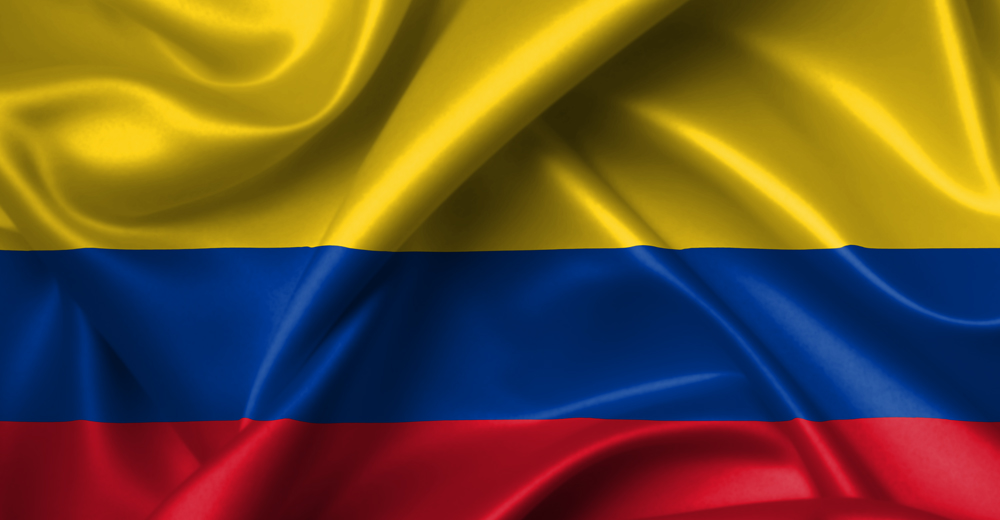 colombia flag wallpaper