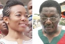 Dr Zanetor Agyeman Rawlings- Left and Nii Armah Ashitey