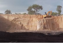 Eta Zuma surface coal mine pit, Okobo, Kogi State