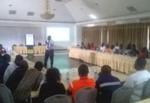 Mr. Thomas Parker facilitating the training (1)