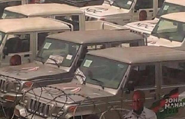 NDC-branded vehicles