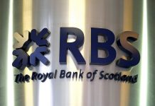 Losses after tax in the first three months of the year stood at £968 million, which compared with a net loss of £459 million in the first quarter of 2015, RBS said (AFP Photo/Shaun Curry)