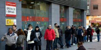 AFP/File / Sebastien Berda Eurozone unemployment in March fell to 10.2 percent, its lowest level since 2011, Eurostat said