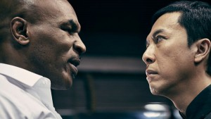 """Mike Tyson and Donnie Yen star in """"Ip Man 3,"""" whose distributor has been punished for ticket sale manipulation. [Photo / China Daily]"""