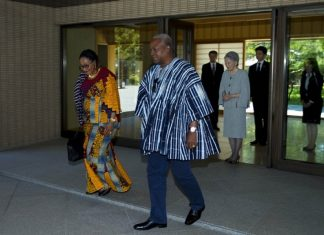 FEATURED Mahama in Japan for official visit