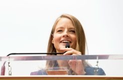 AFP / Valerie Macon Actress and director Jodie Foster attends the ceremony honoring her with a star on the Hollywood Walk of Fame, in Hollywood, California, on May 4, 2016