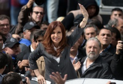 AFP/File / Juan Mabromata A federal Judge has ordered 15 million pesos' worth ($1 million) of Cristina Kirchner's assets to be frozen
