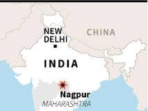 AFP / AFP A fire at a massive military ammunition depot in Nagpur has killed at least 17 people and injured 19 more