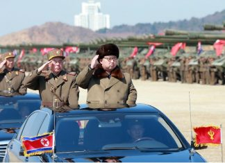 A landmark ruling party congress is really a coronation of sorts for Kim Jong-Un, recognising the young 33-year-old leader as the legitimate inheritor of North Korea's dynastic dictatorship (AFP Photo/)