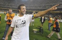 AFP/File / William West Former Australian football captain Lucas Neill (pictured in 2009) has declared bankruptcy in Britain with administrators appointed to investigate his affairs