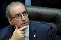 AFP/File / Evaristo Sa Brazil's Lower House speaker Eduardo Cunha is a key opponent of President Dilma Rousseff and architect of impeachment proceedings against her