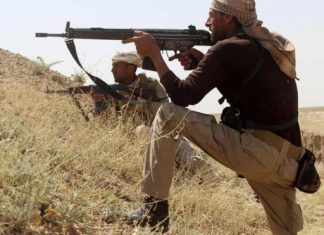 Troops, police and volunteer fighters virtually surround Falluja