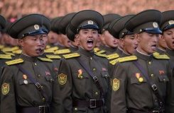 AFP/File / Ed Jones The UN bans North Korea from any use of ballistic missile technology, although it regularly fires short-range missiles into the sea off its east coast