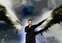 AFP / Jonathan Nackstrand Sergey Lazarev representing Russia at Eurovision has spoken out against his country's climate of homophobia and says he welcomes the support of gay fans