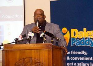 Mr Joe Jackson, Director, Dalex Finance and Leasing Ltd