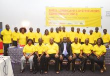 Distributors In a group picture with MD of VEGH