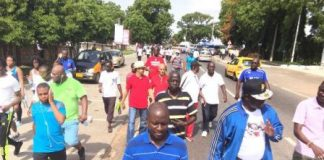 Foreign Affairs Ministry undertakes AU health walk