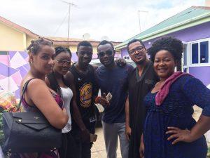 Juliet Ibrahim, Van Vicker, Prince David, Charlotte Derban Arrive In Kumawood