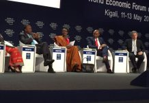 Co-chairs at the World Economic Forum on Africa