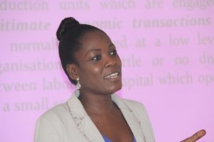 Mrs Mary Akosua Karimu, a Research Officer at the TUC Training College