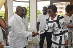 Akufo-Addo congratulates Nana Konadu