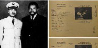 Nelson Mandela in Ethiopia, 1962