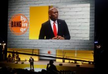 Tony Elumelu addressing the summit