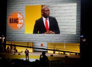 Tony Elumelu addressing the summit