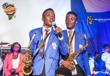 Twinsax performs at 2016 Gospel Jazz Evening Africa_photo by Renascent studio