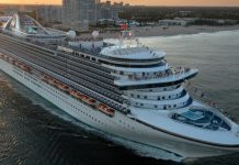 US cruise ship