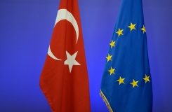 AFP/File / Thierry Charlier The European Commission, the executive arm of the 28-nation EU, has given conditional backing for Turks to get visa-free travel