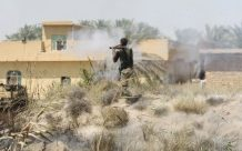 AFP / Ahmad Al-Rubaye A member of the Iraqi pro-government forces fires a rocket-propelled grenade launcher during an operation in al-Shahabi village, east of Fallujah, in an operation to retake the city from Islamic State group, on May 24, 2016
