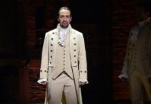 "Getty/AFP/File Actor and composer Lin-Manuel Miranda performs a piece from the Tony-nominated musical ""Hamilton"" on February 15, 2016"