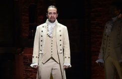 """Getty/AFP/File Actor and composer Lin-Manuel Miranda performs a piece from the Tony-nominated musical """"Hamilton"""" on February 15, 2016"""