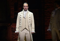 Getty/AFP/File Actor and composer Lin-Manuel Miranda performs a piece from the Tony-nominated musical