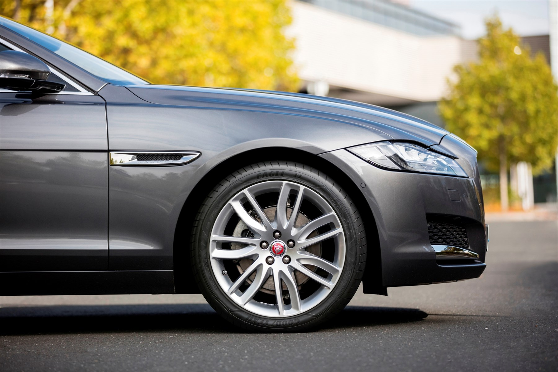 Goodyear Eagle F1 Asymmetric 3 Appears On Jaguar Xf