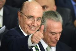 AFP / Evaristo Sa Brazil's new finance minister Henrique Meirelles