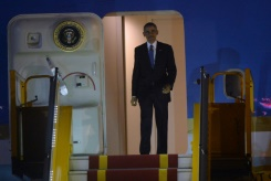 ool/AFP / Huang Dinh Nam The visit to the dynamic and rapidly growing Vietnam is Barack Obama's first -- and the third by a sitting president since the end of hostilities in 1975