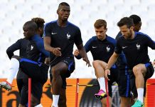 There is talk in France that coach Didier Deschamps is ready drop Paul Pogba and Antoine Griezmann.