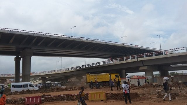 ongoing construction of the Interchange.