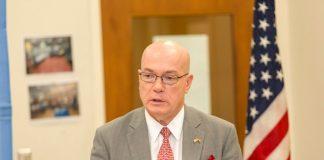 US Ambassador to Ghana, Mr Robert Jackson