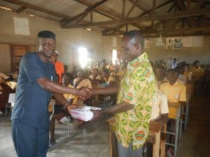 DCE presents books to mark NCCE Citizenship Week