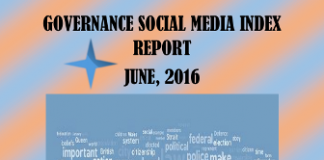 Governance Social Media Index Report 2016